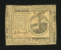 Colonial Notes:Continental Congress Issues, Continental Currency May 10, 1775 $2 Extremely Fine-About New....