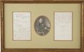Autographs:Authors, Charles Dickens. Autograph Letter Signed with initials by CharlesDickens to Mrs. [Georgiana] Morson, 3 December 1852....