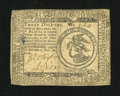 Colonial Notes:Continental Congress Issues, Continental Currency February 26, 1777 $3 Very Fine....