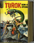 Silver Age (1956-1969):Adventure, Turok, Son of Stone #55-75 Bound Volume (Gold Key, 1967-71)....