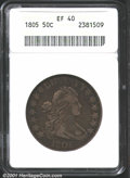 Early Half Dollars: , 1805 50C