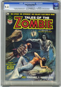 Magazines:Horror, Tales of the Zombie #3 Massachusetts pedigree (Marvel, 1974) CGC NM 9.4 Off-white to white pages....