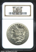 1882-O/S $1 MS65 NGC. Bowers (1993) speculates that hundreds of thousands of the 6 million Silver Dollars produced at th...