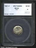 Additional Certified Coins: , 1921-D 10C
