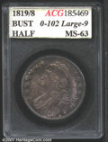 Additional Certified Coins: , 1819/8 50C Large 9