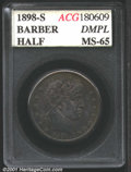 Additional Certified Coins: , 1898-S 50C