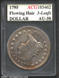 Additional Certified Coins: , 1795 S$1 3 Leaves
