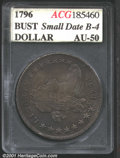 Additional Certified Coins: , 1796 S$1 Sm Dt, Lg