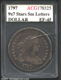 Additional Certified Coins: , 1797 S$1 9X7 SM LET