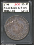 Additional Certified Coins: , 1798 S$1 SM EAGLE