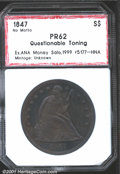 Additional Certified Coins: , 1847 S$1