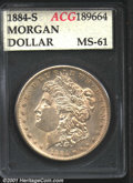 Additional Certified Coins: , 1884-S S$1