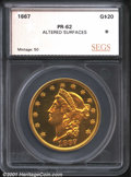 Additional Certified Coins: , 1867 $20