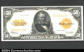 Large Size:Gold Certificates, 1922 $50 Gold Certificate, Fr-1200, XF. A bright, crisp, attrac...