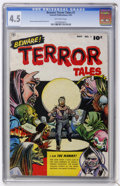 Golden Age (1938-1955):Horror, Beware Terror Tales #1 (Fawcett, 1952) CGC VG+ 4.5 Off-whitepages....