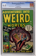 Golden Age (1938-1955):Horror, Adventures Into Weird Worlds #2 (Atlas, 1952) CGC FN 6.0 Cream tooff-white pages....