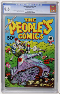 The People's Comics nn (Golden Gate, 1972) CGC NM+ 9.6 Off-white to white pages