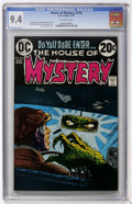 Bronze Age (1970-1979):Horror, House of Mystery #216 (DC, 1973) CGC NM 9.4 Off-white pages....