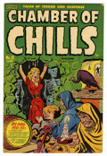 Golden Age (1938-1955):Horror, Chamber of Chills 21 (#1) (Harvey, 1951) Condition: FN....