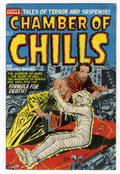 Golden Age (1938-1955):Horror, Chamber of Chills #8 (Harvey, 1952) Condition: VG....