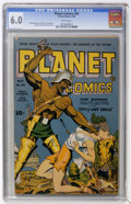 Golden Age (1938-1955):Science Fiction, Planet Comics #30 (Fiction House, 1944) CGC FN 6.0 White pages....