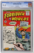 Silver Age (1956-1969):Horror, Forbidden Worlds #108 Bethlehem pedigree (ACG, 1962) CGC VF/NM 9.0Off-white pages....