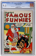 Golden Age (1938-1955):Miscellaneous, Famous Funnies #161 File Copy (Eastern Color, 1947) CGC NM- 9.2 Cream to off-white pages....