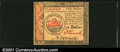 Colonial Notes:Continental Congress Issues, Continental Currency January 14, 1779 $50 Gem New. Bright, ...