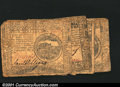 Colonial Notes:Continental Congress Issues, Five Continental Currency Notes. May 9, 1776 $4; May 9, 177...