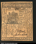 Colonial Notes:Delaware, Delaware May 1, 1777 20s Choice Extra Fine. A very pleasing...
