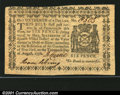 Colonial Notes:New York, New York August 13, 1776 $1/16 or 6d Very Choice New. This ...