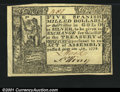 Colonial Notes:Virginia, Virginia May 4, 1778 $5 Choice New. A terrific example of a...