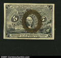 Fractional Currency:Second Issue, Fr. 1232 5¢ Second Issue Superb Gem New. An outstanding lit...