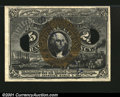 Fractional Currency:Second Issue, 25¢ Second Issue Experimental Superb Gem New. This Experime...