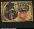 Fractional Currency:Fifth Issue, Fr. 1266 10¢ Fifth Issue Satirical Fine. An obviously early...