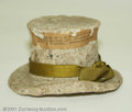 Miscellaneous:Other, Macerated Top Hat. Two inches high and three inches in leng...