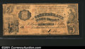 Confederate Notes:1861 Issues, T35 $5 1861. The famous Indian Princess note, an extreme ra...
