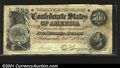 Confederate Notes:1864 Issues, T64 $500 1864. A nice evenly circulated Very Fine examp...