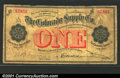 Obsoletes By State:Colorado, Denver, CO - The Colorado Supply Co. $1 Sept. 1, 1899