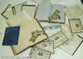 Obsoletes By State:Massachusetts, Large Collection of Financial Documents and Memorabilia from ...