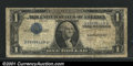 Error Notes:Inverted Third Printings, Fr. 1608 $1 1935A Silver Certificate. Very Good-Fine. A gre...