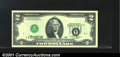 Error Notes:Inverted Third Printings, Fr. 1935-A $2 1976 Federal Reserve Note. Gem Crisp Uncirculat...