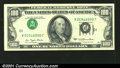 Error Notes:Inverted Third Printings, Fr. 2168-J $100 1977 Federal Reserve Note. Extremely Fine-Abo...