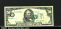 Error Notes:Shifted Third Printing, Fr. 2120-G $50 1981 Federal Reserve Note. Extremely Fine-Abou...