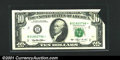 Error Notes:Foldovers, Fr. 2031-B $20 1993 Federal Reserve Note. Extremely Fine-Abou...