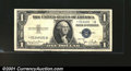 Error Notes:Obstruction Errors, Fr. 1613* $1 1935D Silver Certificate. Very Fine-Extremely Fi...