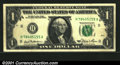 Error Notes:Major Errors, Fr. 1911-H $1 1981 Federal Reserve Note. Extremely Fine. An...