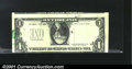 Error Notes:Major Errors, Fr. 1913-H $1 1985 Federal Reserve Note. About Uncirculated....