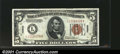 Small Size:World War II Emergency Notes, Fr. 2301 $5 1934 Mule Hawaii Federal Reserve Note. Gem Crisp ...
