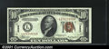 Small Size:World War II Emergency Notes, Fr. 2303 $10 1934A Hawaii Federal Reserve Note. Gem Crisp Unc...